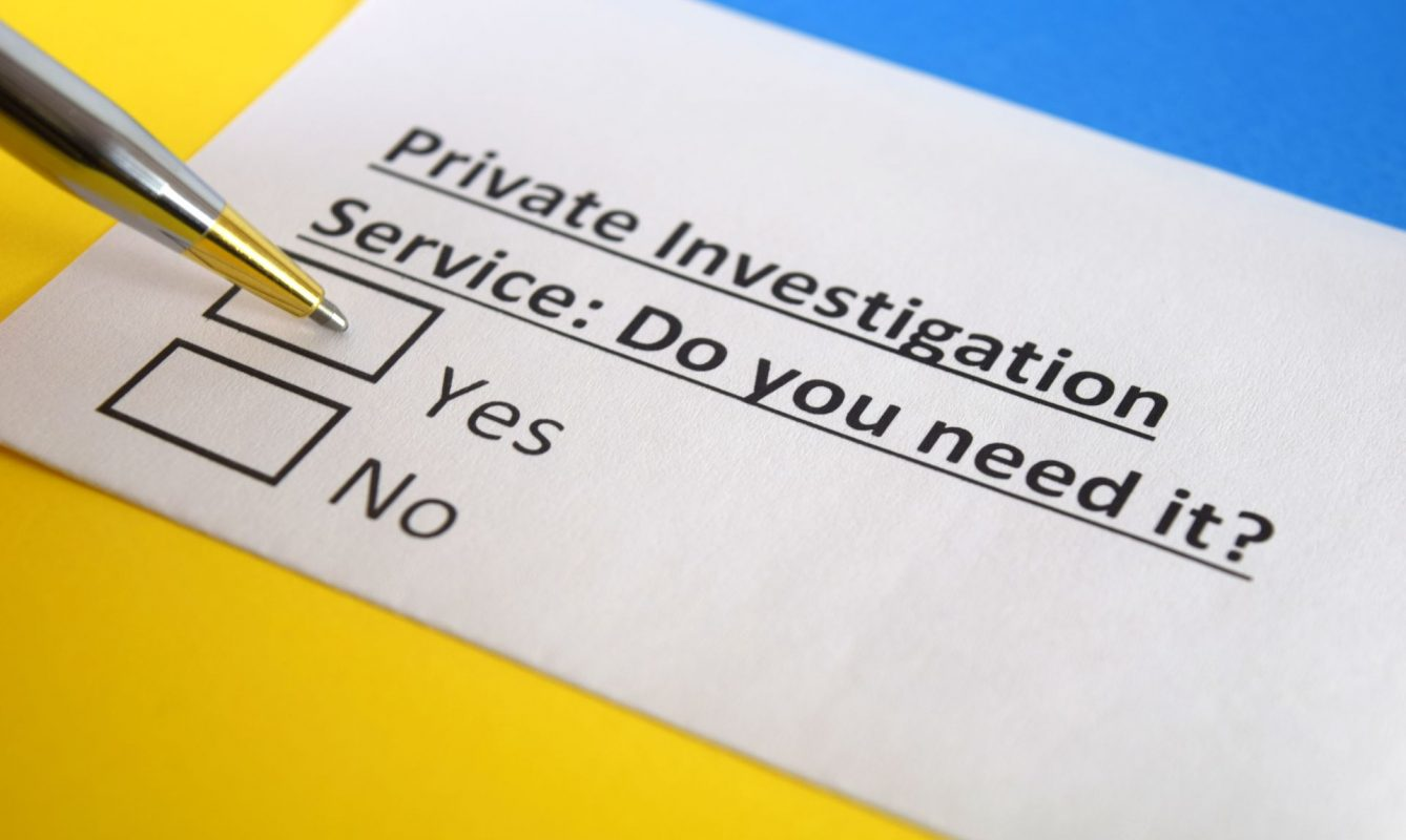 Top Reasons to Hire a Private Investigation Firm